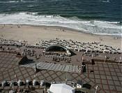 Blick auf den Strand und die Prommenade