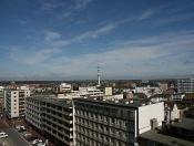 Weitblick über die Dächer von Westerland