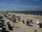 Westerländer Strand im Sommer