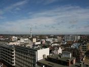 Blick über die Dächer von Westerland